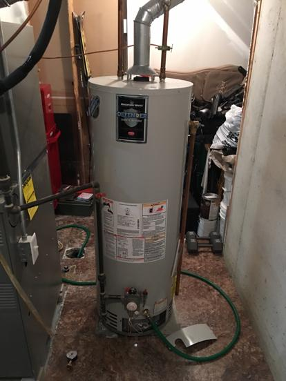 How do I know the age of my water heater?