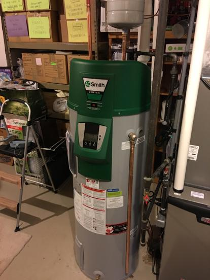 AO Smith High Efficiency water heater