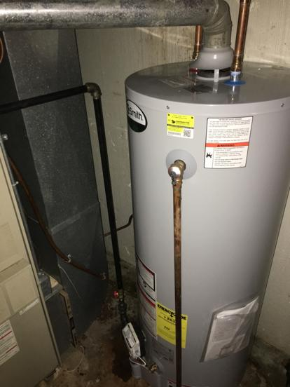 hot water heater in overland park