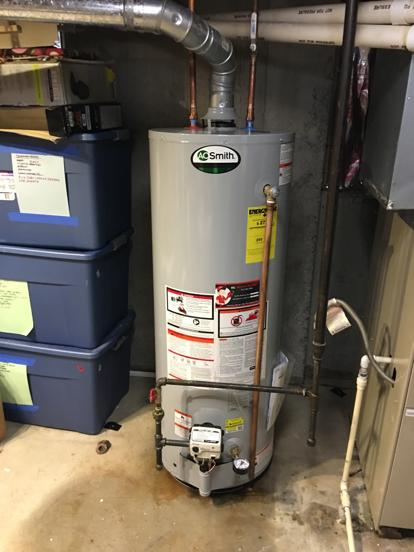 6 year water heater