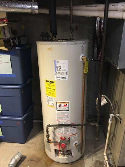 12 year water heater