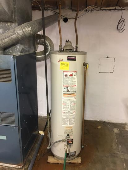 Kenmore water heater leaking