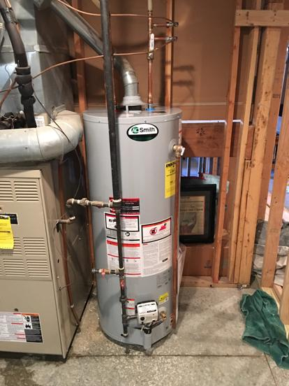 AO Smith professionally installed