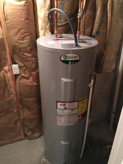 how to tell the age of water heater