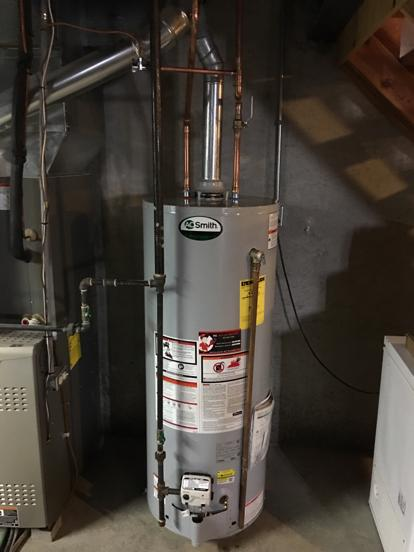AO Smith hot water heater