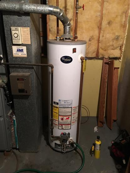 leaking whirlpool water heater