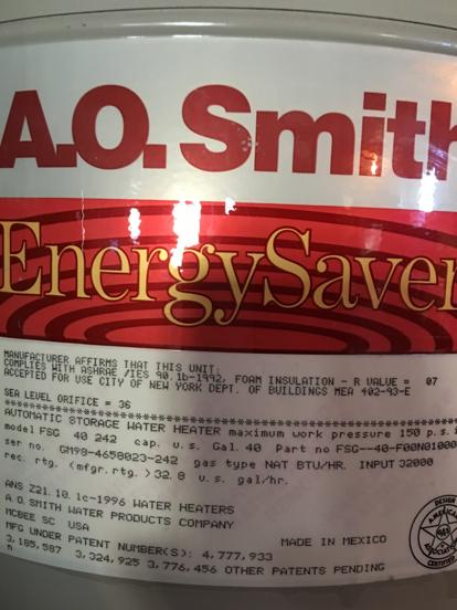 Energy Saver from AO Smith