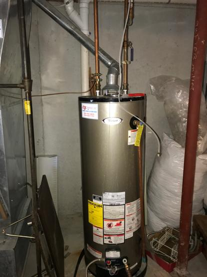 Whirlpool water heater