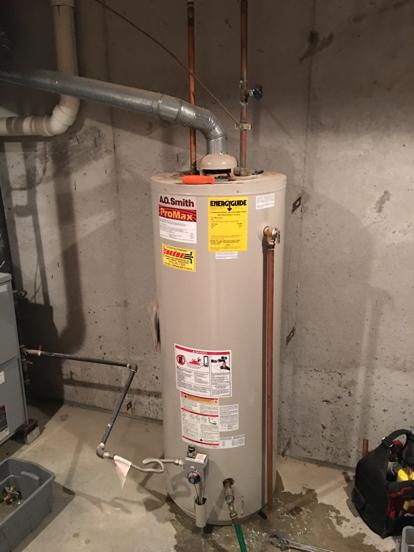 15 year old AO Smith water heater