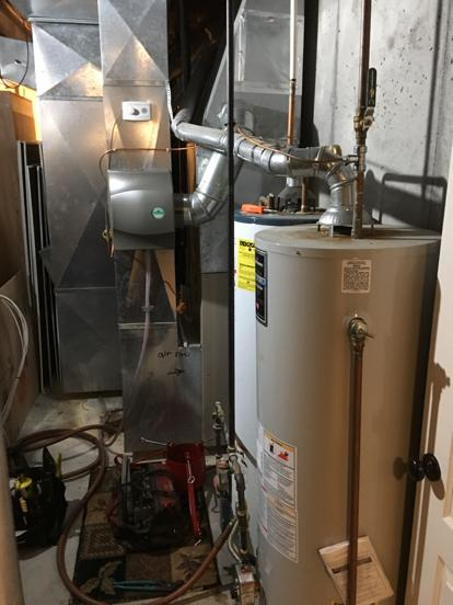 unsafe flue for second water heater