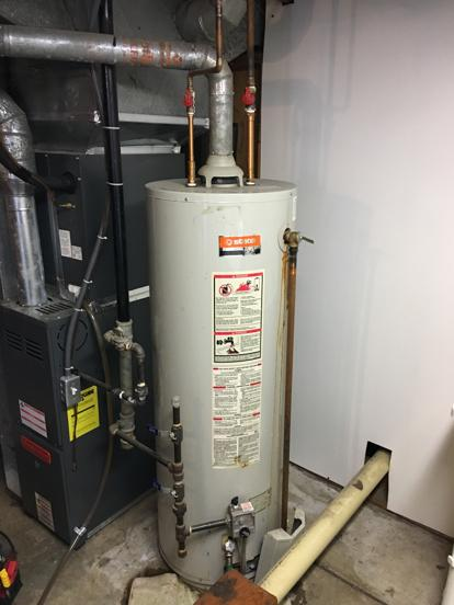 Water heater age in Overland Park 66212