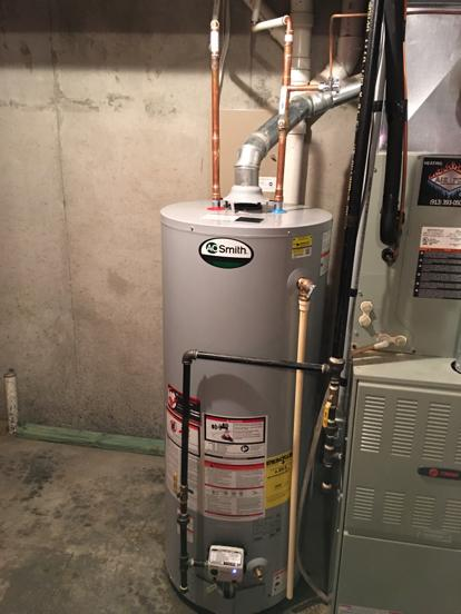 Hot water heater olathe 66061