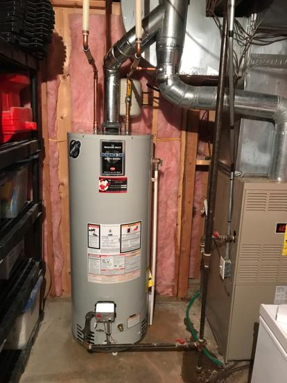 KC Water Heaters install