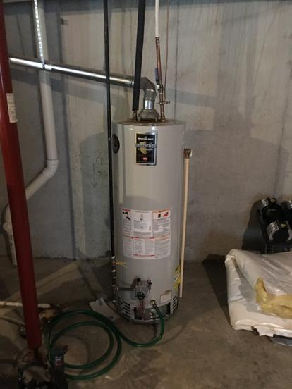 thermal expansion on water heater
