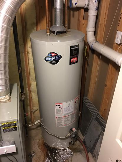 bradford white water heater serial number
