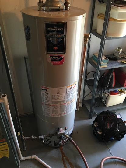 Bradford Water Heater >> Average life of Bradford White water heater replacemenet