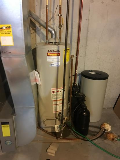AO Smith with water softener