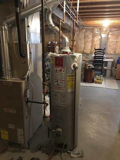 Olathe water heater leaking