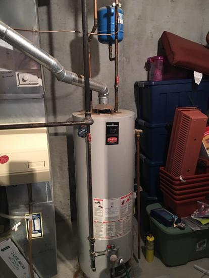 water heater backdraft