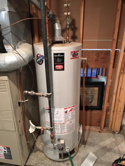hot water heater bradford white