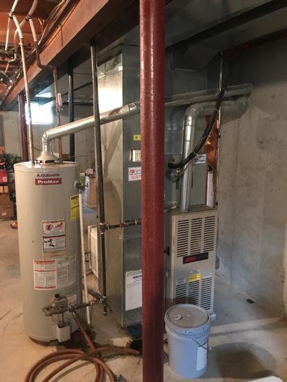 Backdrafting water heater