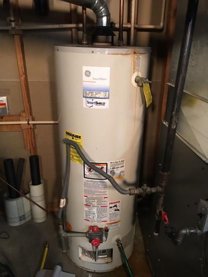 Rheem year water heater